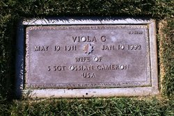 Viola Gertrude Trude <i>Wessner</i> Cameron