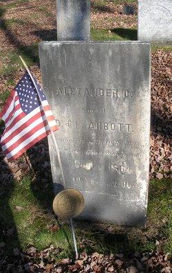 Pvt Alexander D. Abbott