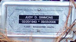 Judy D. Simmons