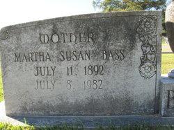 Martha Susan <i>Tilton</i> Bass