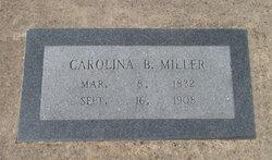 Carolina B Miller