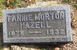 Fannie L <i>Morton</i> Hazell