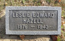 Leslie Edward Hazell