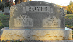 Lora Jane <i>Mayberry</i> Boyer