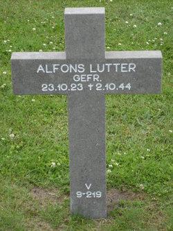 Alfons Lutter