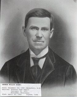 George Willis Willie Adams