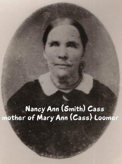 Nancy Ann <i>Smith</i> Cass