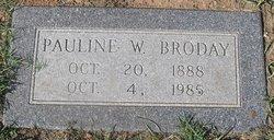 Pauline Walters <i>Walters</i> Broday