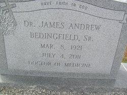 Dr James Andrew Bedingfield, I