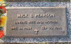 Lida Michala Mick <i>Looney</i> Pearson