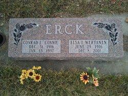 Conrad Joseph Connie Erck
