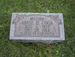 Abbie Esther Hettie <i>Miller</i> Cook