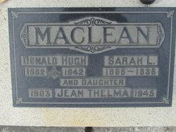 Donald Hugh MaClean