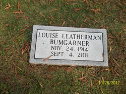 Louise L. Wells <i>Leatherman</i> Bumgarner