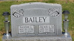Nannie L <i>Skidmore</i> Bailey