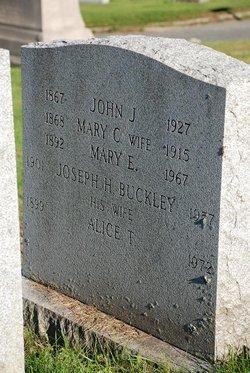 Joseph H Buckley