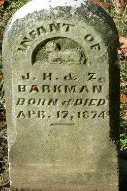 Infant Barkman
