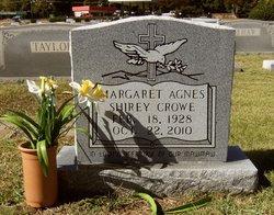 Margaret Agnes <i>Shirey</i> Crowe