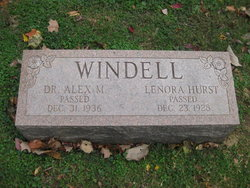 Mrs Lenora Nora <i>Hurst</i> Windell