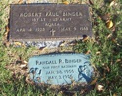 Lieut Robert Paul Binder