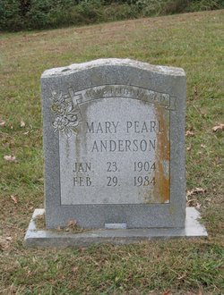 Mary Pearl Anderson