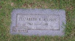 Elizabeth K Allison