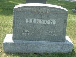 Alida L Benson