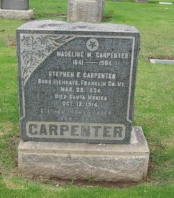 Madeline M. <i>Webb</i> Carpenter