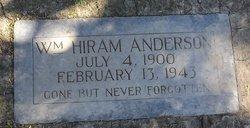 William Hiram Anderson