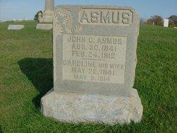 Caroline Sophia Dorothea <i>Trapp</i> Asmus