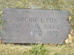 Archie L. Fox