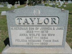 Felicia <i>Taylor</i> Hemans