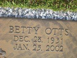 Betty <i>Otts</i> Bolling