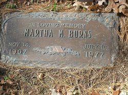 Martha M. Burns