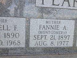 Fannie Americus <i>Montgomery</i> Pearson
