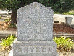Harriett Snyder