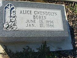 Alice Gwendolyn Boren