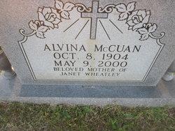 Alvina McCuan