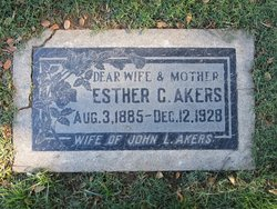 Esther C <i>Hjelm</i> Akers