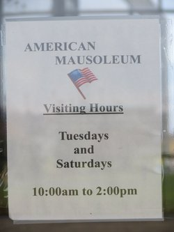 American Mausoleum