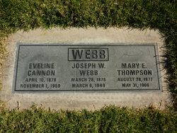 Eveline Cannon <i>Webb</i> Woodbury