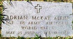 Adrian McKay Albin