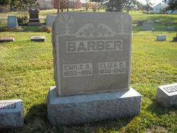 Elizabeth Catherine Eliza <i>(Besancon)</i> Barber