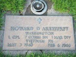 Corp Howard David Akehurst