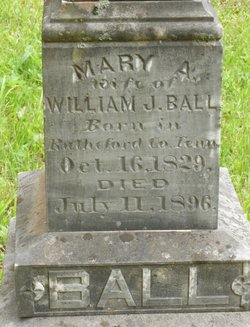 Mary A <i>Crouse</i> Ball