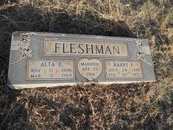 Alta Effie <i>Clester</i> Fleshman