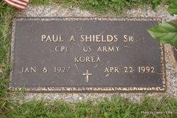 Paul A Shields, Sr