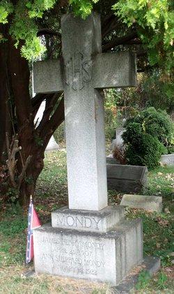 Capt James Henry Mondy