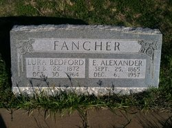 Lura Jane <i>Bedford</i> Fancher