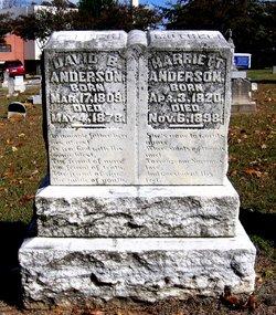 Harriett Elizabeth <i>Kilgore</i> Anderson